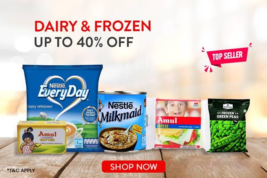 Dairy Frozen Offer