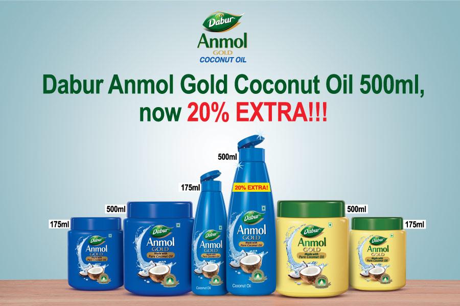 Dabur Anmol Exclusive Slot