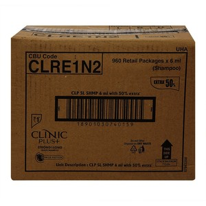 Clinic Plus Strong & Long Hair Shampoo 960 N (6 ml Each)