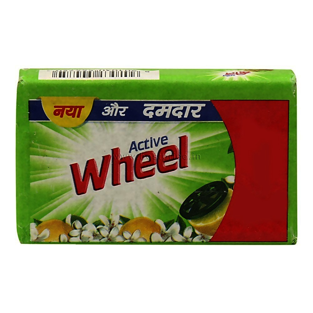 Wheel Active Green Detergent Bar 120 g