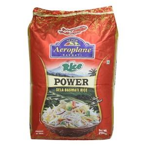 Aeroplane Power Dubar Sella Basmati Rice 25 kg