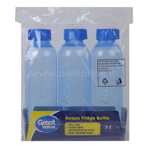 Great Value Acqua Fridge Bottle 3 N